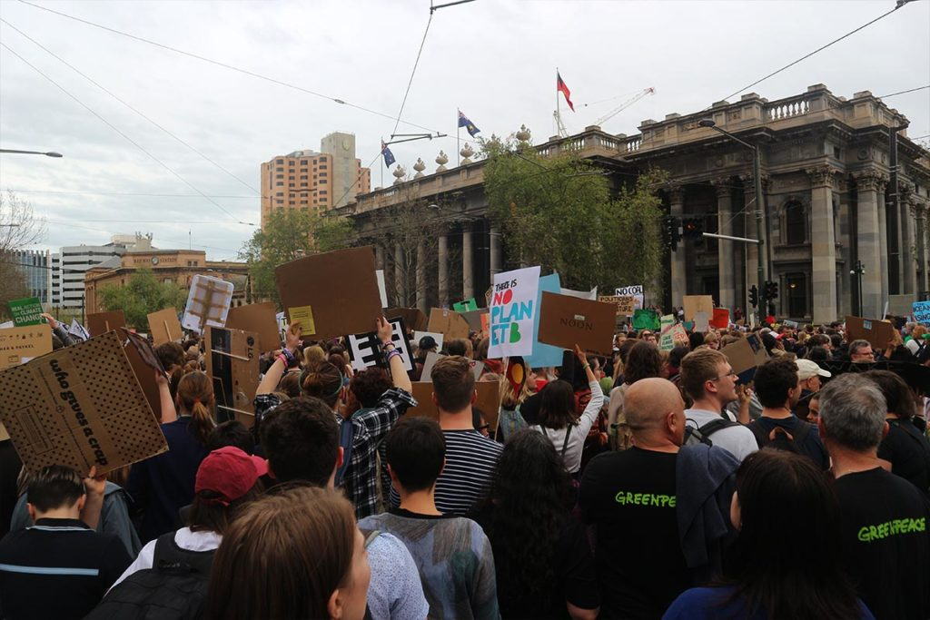 Adelaide School Strike 4 Climate - Victoria Square - SA Parliament - 20 September 2019 - South Australia Extinction Rebellion - Conjour World - 10
