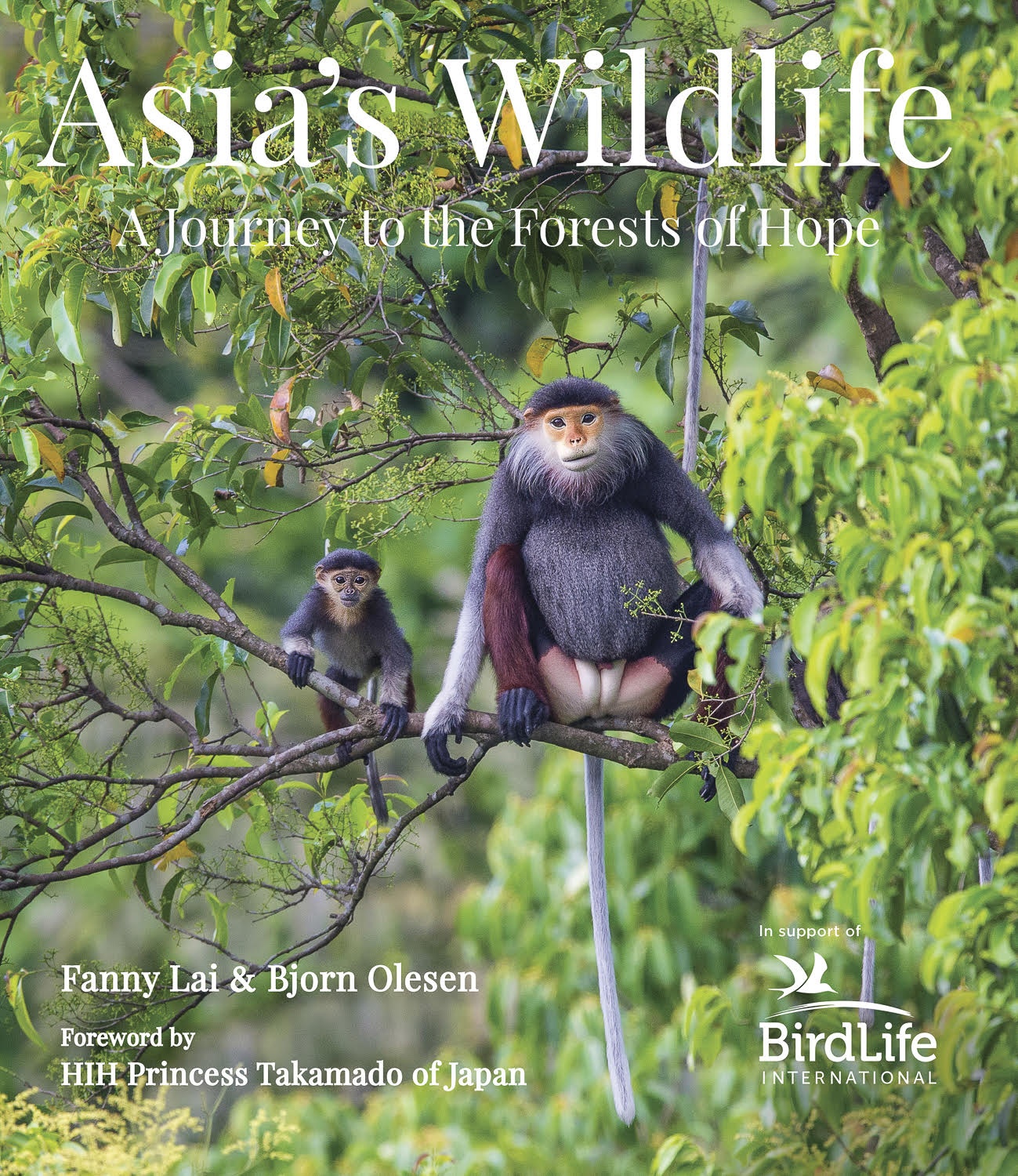 Asia's Wildlife - Courtesy of Fanny Lai, Bjorn Olesen and Birdlife International